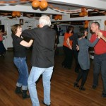 Dancers at the Go Orange Charity Dance Night